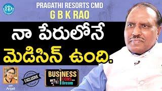 Pragathi Resorts CMD GBK Rao Exclusive Interview || Business Icons With iDream #11 - IDREAMMOVIES