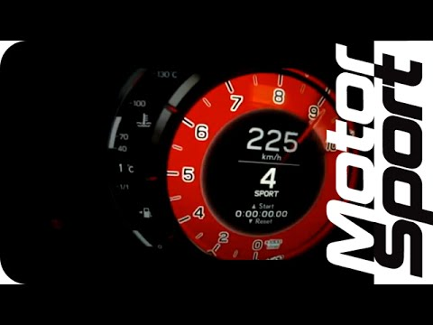 Lexus LFA 0-260 km/h Acceleration (Motorsport)