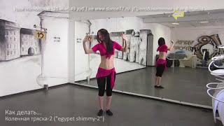 www.dance77.ru - Как делать - Коленная тряска - Урок 2  - демо ролик
