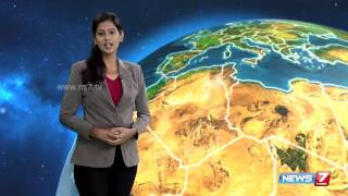 Weather Forecast 13-10-2015 – News7 Tamil Show