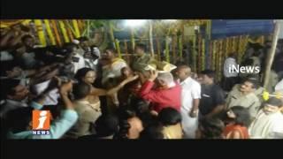 Ashok Gajapathi Raju Participate in Chandanotsavam at  Smhachalam Appanna Temple   iNews - INEWS