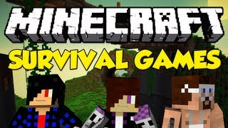 Minecraft: Survival Games! (w/ Ryan and Malo)