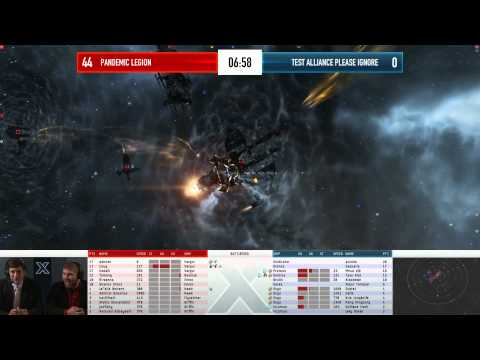 EVE Online - AT10 Day 8 Match 3 - Pandemic Legion vs Test Alliance Please Ignore
