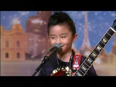 Jeremy Yong Kid Guitarist Australia s Got Talent 2012 audition 7 FULL