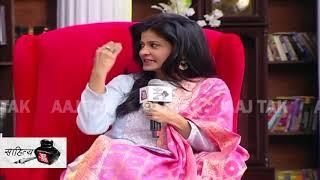 Cinema में महिलाओं की स्थिति में परिवर्तन पर ऋचा चड्ढा का मजेदार जवाब | #SahityaAajTak18 - AAJTAKTV