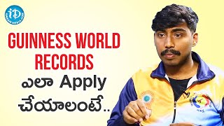 Process For Applying Guinness world record  - Martial Artist Sai Deepak | Dil Se With Anjali - IDREAMMOVIES