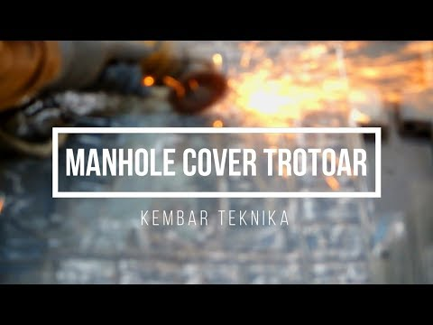 Proyek Manhole Cover Trotoar Jepara
