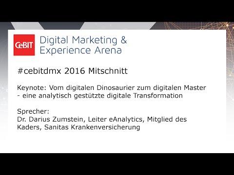 #cebitdmx: Keynote - Dr. Darius Zumstein