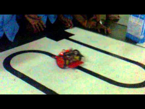 Color tracking Robot developed by the students of Ramakrishna Mission Polytechnic College