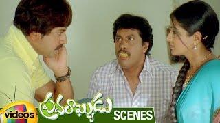 Priyamani Slaps Jagapathi Babu   Pravarakyudu Movie Scenes   Jagapathi Babu   Priyamani   Sunil - MANGOVIDEOS