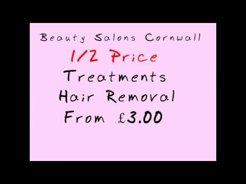 Beauty Salons Cornwall. 1/2 Price Treatments. 07825279173