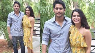 Samantha &  Naga Chaitanya Interact With Media  | Majili Movie Success - RAJSHRITELUGU