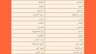 مفردات الأعشاب بلهجة المغربية Youtube