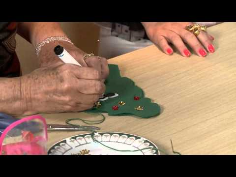 Vida Melhor - Artesanato: Árvore de Natal Porta-bombom (Ana Maria Ronchel)