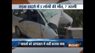 Jammu & Kashmir: Five killed, seven critically injured in Samba road mishap - INDIATV