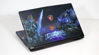 Видео обзор ноутбука MSI GE62 6QD Heroes of the Storm Edition
