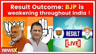 Assembly elections result 2018 analysis: BJP is weakening throughout India ! - NEWSXLIVE
