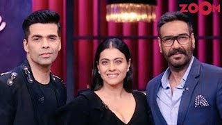Ajay & Kajol to be latest guests on Karan's chat show 'Koffee with Karan' & more | Bollywood News - ZOOMDEKHO
