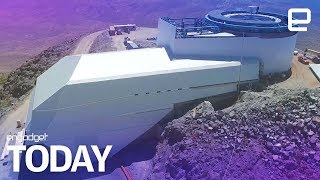 Take a sneak peek at the nearly-complete Large Synoptic Survey Telescope | Engadget Today - ENGADGET