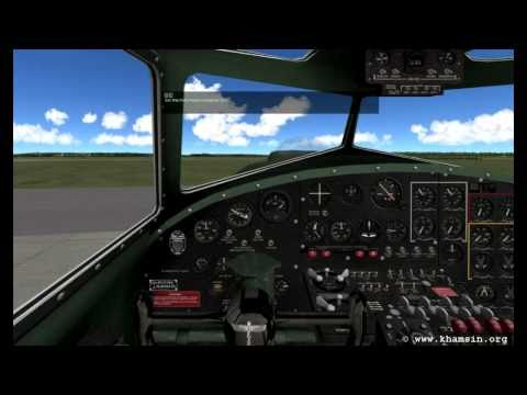 Boeing B-17G Flying Fortress for X-Plane - Starting the engines