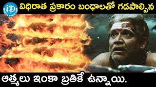 విధిరాత ప్రకారం బంధాలతో గడపాల్సిన ఆత్మలు ఇంకా బ్రతికే ఉన్నాయి. - Anthervedam Movie scene || Amar - IDREAMMOVIES