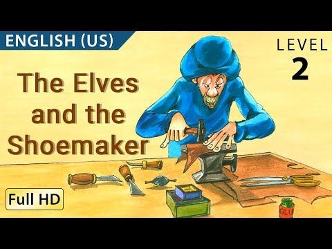 "The Elves and the Shoemaker: Learn English with subtitles - Story for Children ""BookBox.com"""