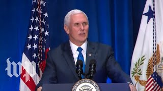 Pence speaks at March for Life dinner - WASHINGTONPOST