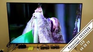 Panasonic LED 4K 3D TV - 48CX400B Review