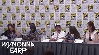 WYNONNA EARP | Waverly Not An Earp? - San Diego Comic-Con 2016 | Syfy - SYFY