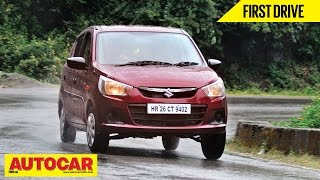 2014 Maruti Suzuki Alto K10 | First Drive Video Review
