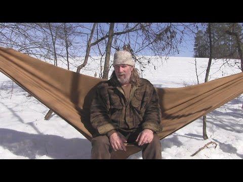 Wool Blanket Hammock