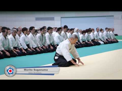 Aikido Class: Morito Suganuma 8th Dan - 12th IAF Congress in Takasaki