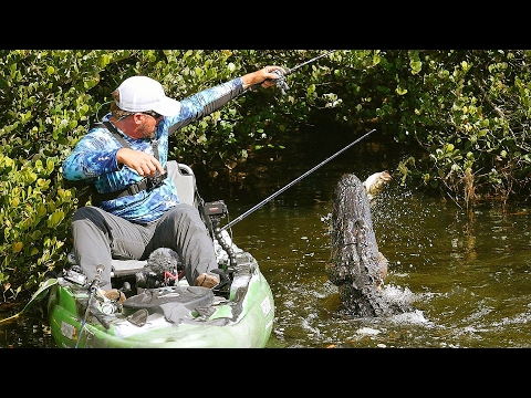 Found Secret Fishing Spot Infested with Alligators! (Worlds Best Bass Fisherman)