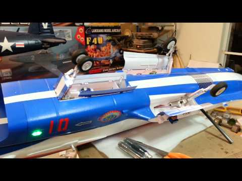The Air Epic / Banana Hobby J-10 retract system Demo By: RCINFORMER