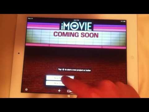 iMovie for iPad - FULL app tutorial