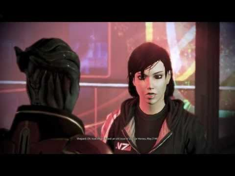 Mass Effect 3 - Kissing Samara - Citadel DLC Romance