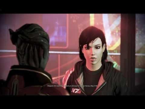 Mass Effect 3 - Kissing Samara - Citadel DLC Romance