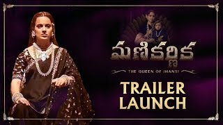 Manikarnika Telugu Trailer Launch: A Graceful Kangana Ranaut Attends The Event - RAJSHRITELUGU