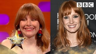 Could Jessica Chastain be Bryce Dallas Howard's twin? - BBC - BBC