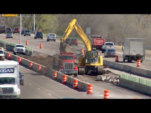 I-94 Construction in Brooklyn Center