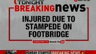 Howrah Stampede: 14 people injured at Santragachi station - NEWSXLIVE