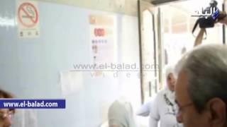 بالفيديو والصور.. محافظ المنيا يتفقد مستشفى الأمراض الصدرية ويتابع صرف أدوية مرضى التأمين الصحي