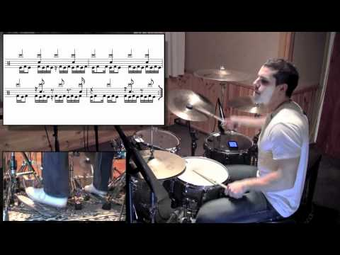 Periphery - Icarus Lives Drum Cover & Lesson by Troy Wright HD