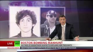Meine Söhne sind unschuldig und alles gestellt | Mutter Tsarnaeva (Interview RT 19.04.2013)