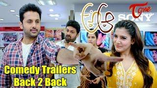 A Aa Movie Comedy Trailers | Back 2 Back | Nithiin, Samantha, Trivikram - TELUGUONE