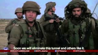 See the news report video by Israel destroys Hamas tunnels under its cities