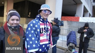 Trump supporters flock to Washington for inauguration - REUTERSVIDEO
