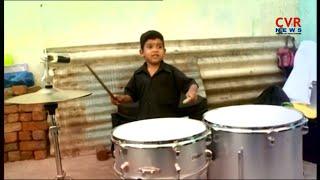 5 Years Old Boy Amazing Drums Play Talent In Vijayawada | CVR News - CVRNEWSOFFICIAL