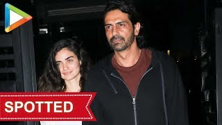 SPOTTED: Arjun Rampal with rumoured girlfriend Gabriella Demetiades @ Yauatcha - HUNGAMA
