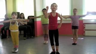 Непоседы открытый урок - эстрадный танец